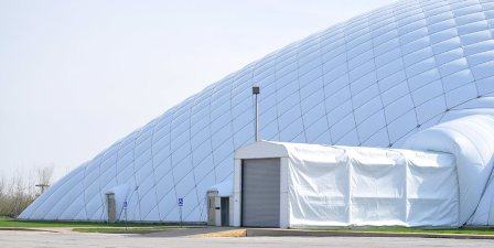 Front of Ambrose Dome