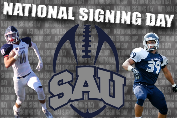 SAU Football welcomes 2017 National Signing Day class photo
