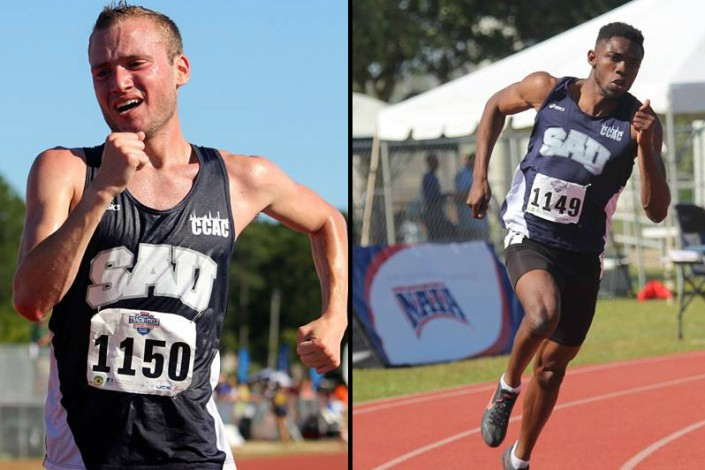 Peters and Ohioze set to race at national championships photo