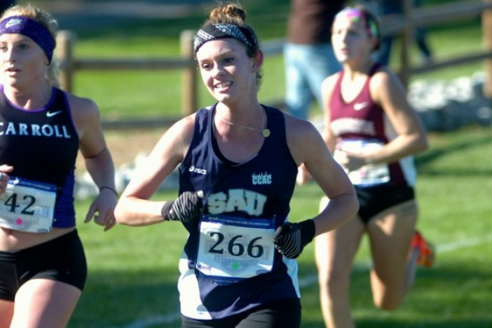 Paisley improves on her time at NAIA XC Nationals photo