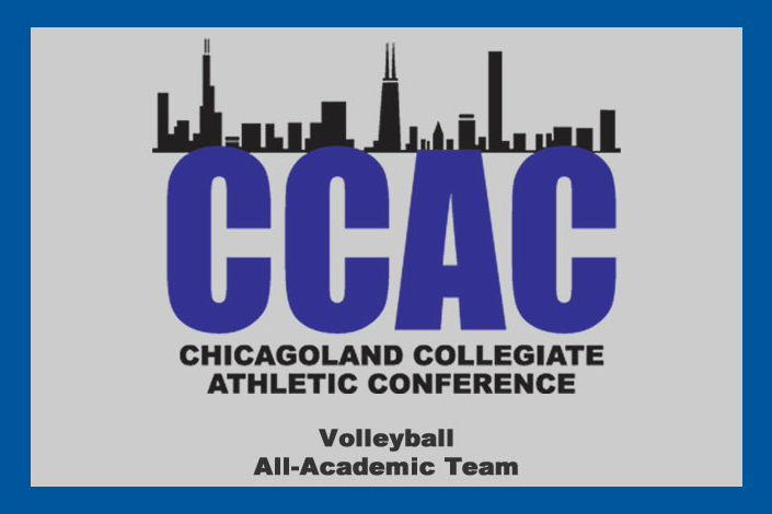 Seven Bees named to CCAC all-academic volleyball team photo