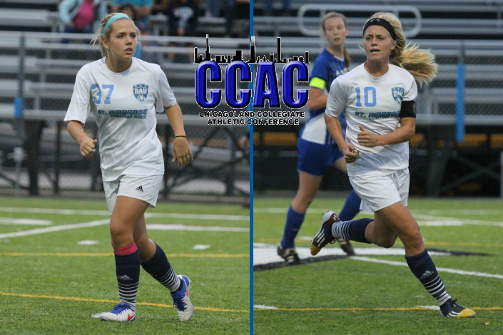 Anderson, Eisenberg named First Team all-CCAC; three others on second team photo