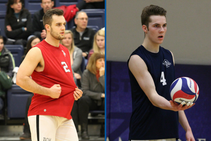 Royer and MacGillis earn Player of the Year honors; four Bees named all-CCAC photo