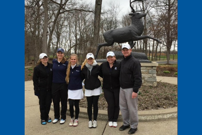 St. Ambrose opens spring schedule at TPC Deere Run photo