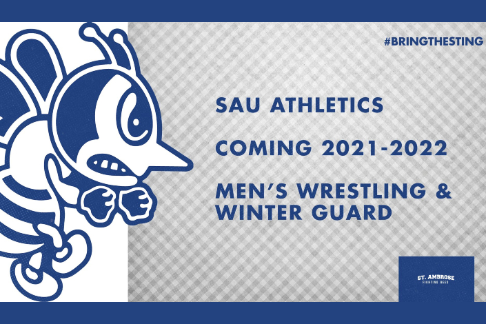 SAU to add men's wrestling and winter guard