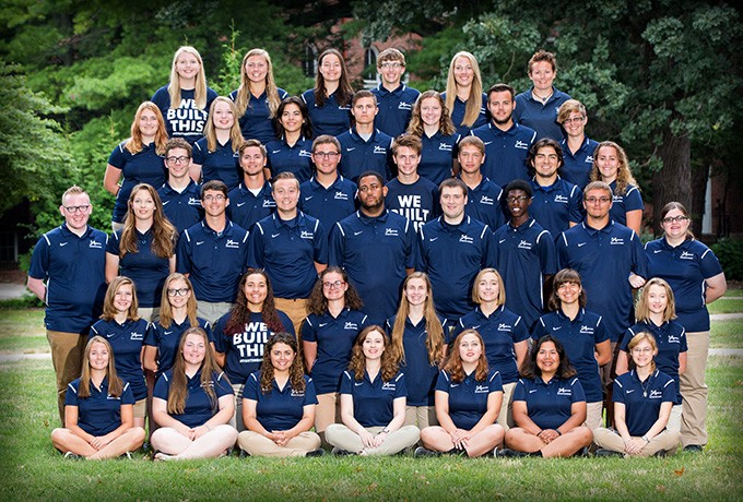 2017-18 Athletic Bands Team Photo