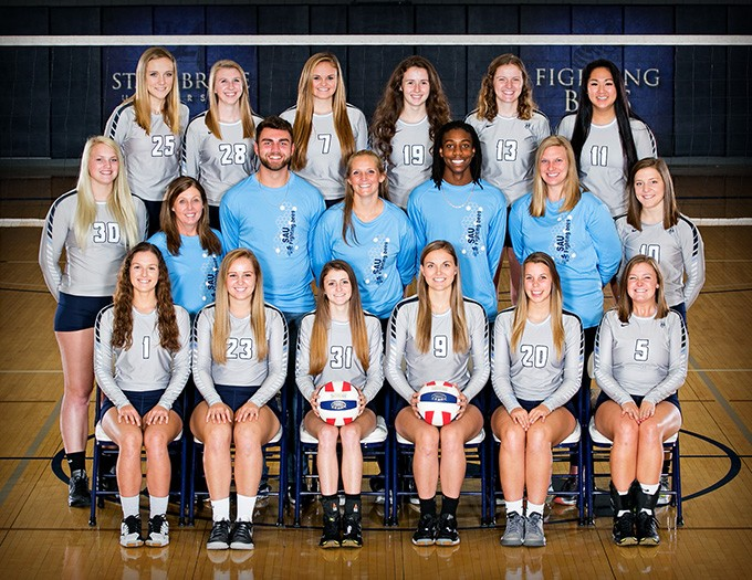 2017 Women's Volleyball - JV Team Photo